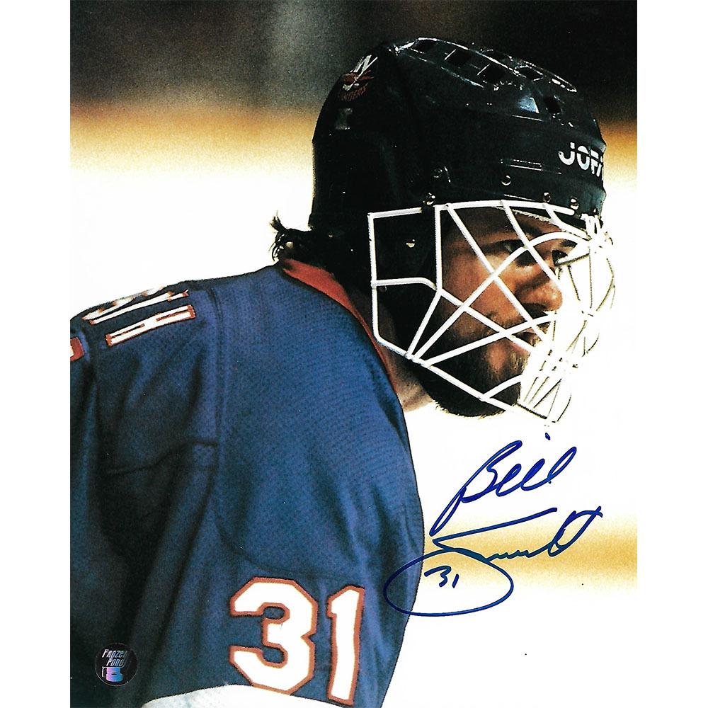 Billy Smith Autographed New York Islanders 8X10 Photo