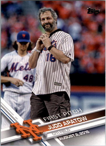 Photo of 2017 Topps First Pitch #FP3 Judd Apatow