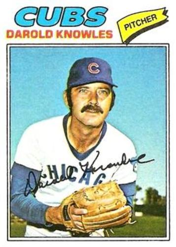 Photo of 1977 Topps #169 Darold Knowles