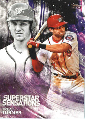 Photo of 2018 Topps Superstar Sensations #SSS10 Trea Turner