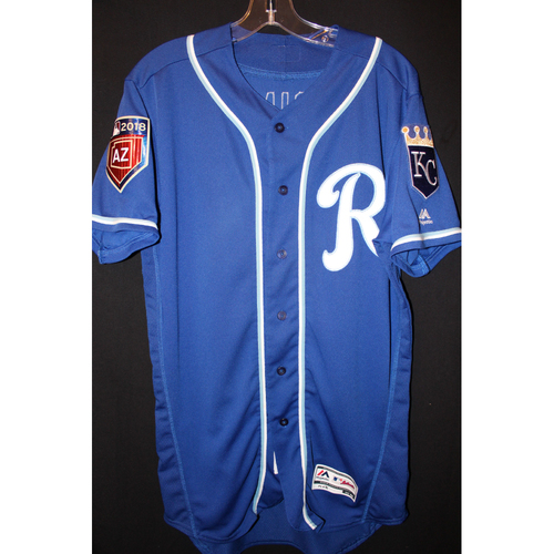 Photo of Game-Used Spring Training Jersey: Ryan Goins (Size 42)