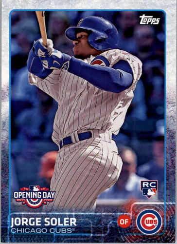 Photo of 2015 Topps Opening Day #25 Jorge Soler RC