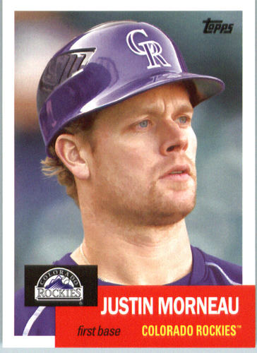 Photo of 2016 Topps Archives #8 Justin Morneau