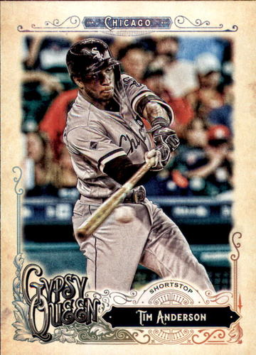Photo of 2017 Topps Gypsy Queen #107 Tim Anderson