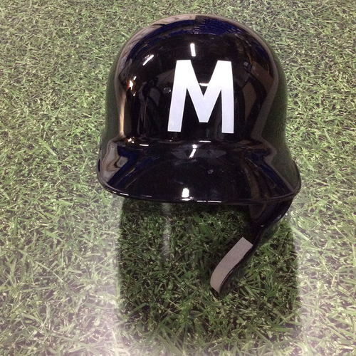 Photo of Keon Broxton 2018 Team-Issued Milwaukee Bears Batting Helmet