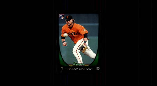 Photo of 2011 Bowman Draft #25 Brandon Crawford Rookie Card