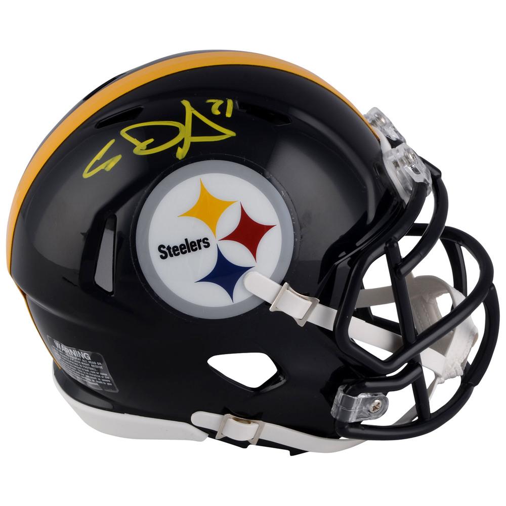 Evgeni Malkin Pittsburgh Penguins Autographed Pittsburgh Steelers Mini Helmet