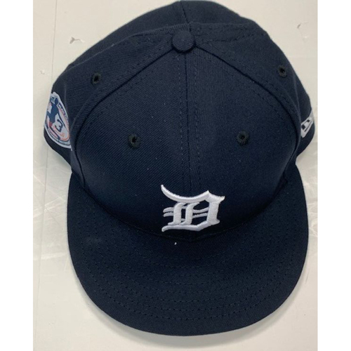 Photo of Game-Used Alan Trammell Number Retirement Ceremony Cap: Alex Wilson