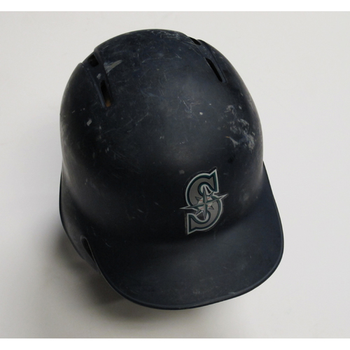 Photo of 2018 Team-Issued Navy Batting Helmet: James Paxton