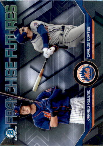 Photo of 2018 Bowman Chrome Draft Franchise Futures #FFNYM Carlos Cortes/Jarred Kelenic