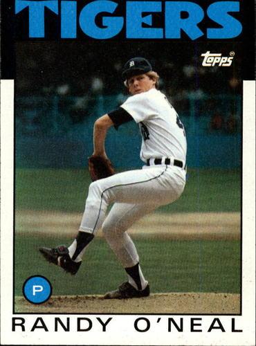 Photo of 1986 Topps #73 Randy O'Neal