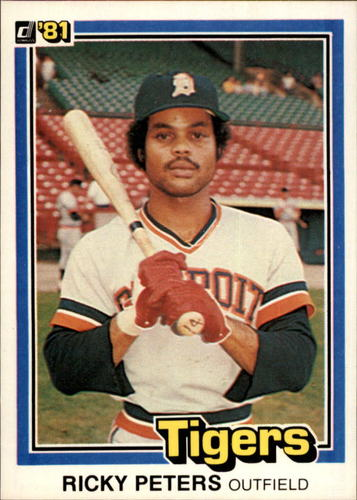 Photo of 1981 Donruss #10 Ricky Peters RC