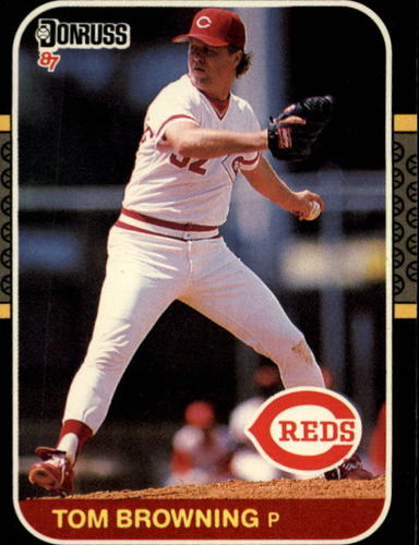 Photo of 1987 Donruss #63 Tom Browning