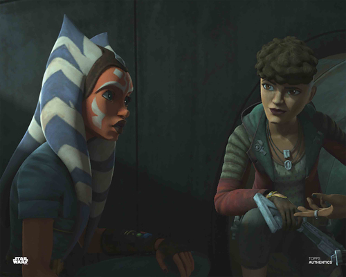 Ahsoka Tano and Trace Martez