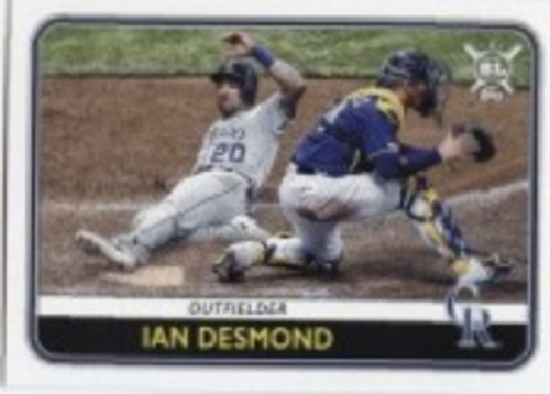 Photo of 2020 Topps Big League #80 Ian Desmond