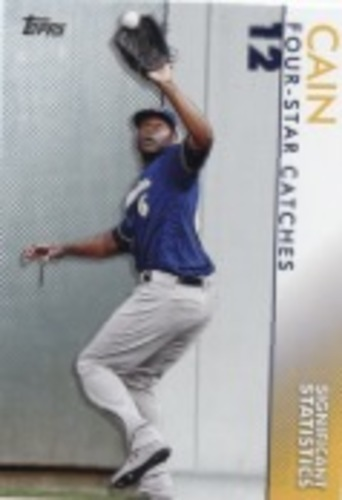 Photo of 2020 Topps Significant Statistics #SS22 Lorenzo Cain