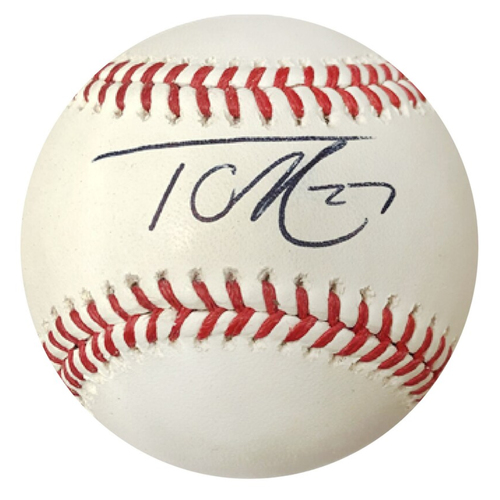 Photo of Cardinals Authentics: Tyler O'Neill Autographed Baseball
