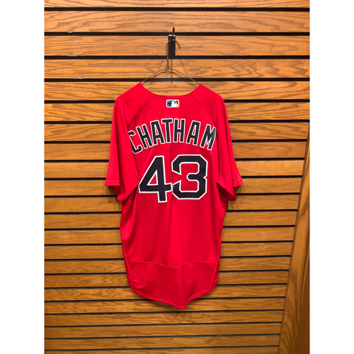 Photo of CJ Chatham Team Issued 2021 Spring Training Jersey