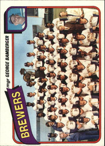Photo of 1980 Topps #659 Milwaukee Brewers CL/George Bamberger MG
