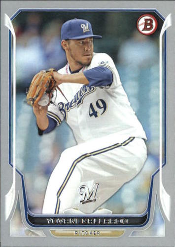 Photo of 2014 Bowman Silver #64 Yovani Gallardo