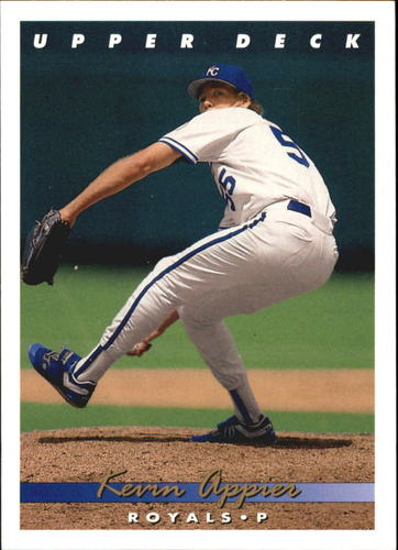Photo of 1993 Upper Deck Gold Hologram #89 Kevin Appier