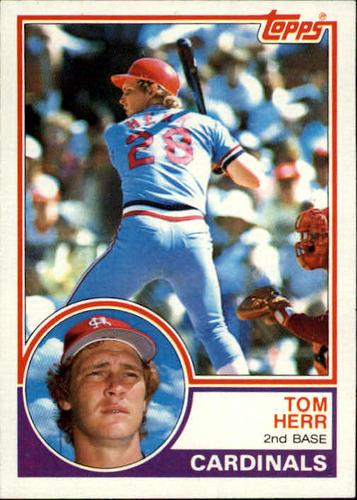 Photo of 1983 Topps #489 Tom Herr