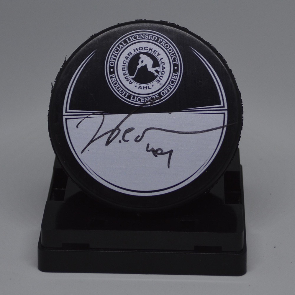 2016 Toyota AHL All-Star Classic Souvenir Puck Signed by #49 Will O'Neill