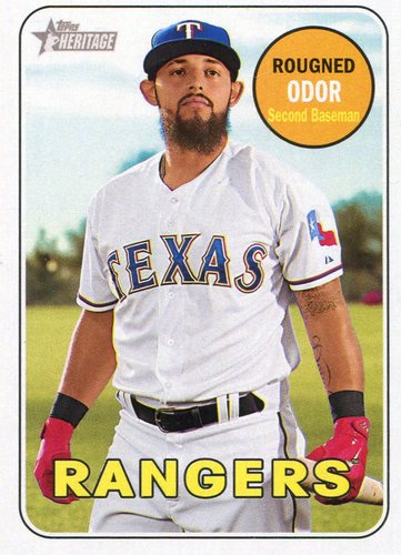 Photo of 2018 Topps Heritage #110 Rougned Odor