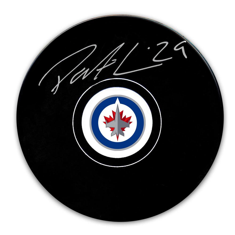 Patrik Laine Winnipeg Jets Autographed Puck