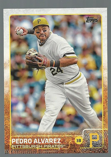 Photo of 2015 Topps #106 Pedro Alvarez