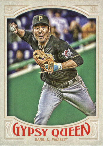 Photo of 2016 Topps Gypsy Queen #47 Jung Ho Kang