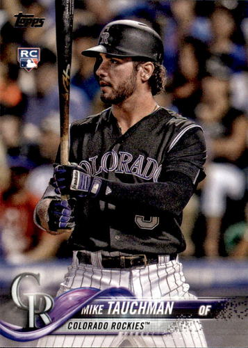 Photo of 2018 Topps Update #US61 Mike Tauchman Rookie Card