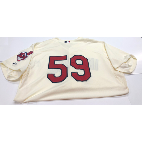 Photo of Carlos Carrasco Team Issued 2013 Alternate Home Jersey