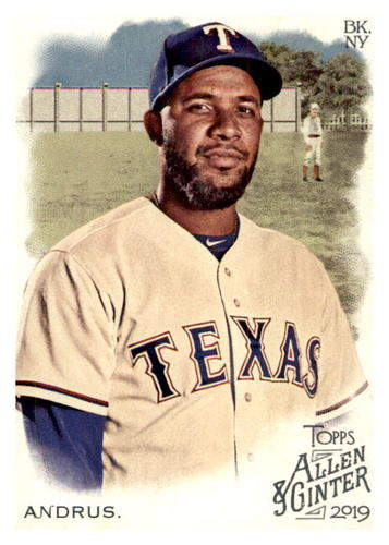 Photo of 2019 Topps Allen and Ginter #91 Elvis Andrus