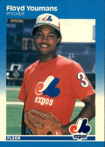Photo of 1987 Fleer #337 Floyd Youmans