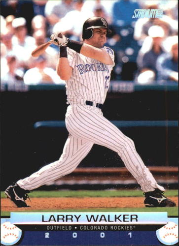 Photo of 2001 Stadium Club #10 Larry Walker