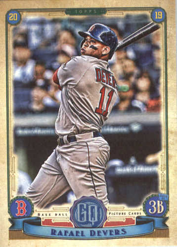 Photo of 2019 Topps Gypsy Queen #147 Rafael Devers