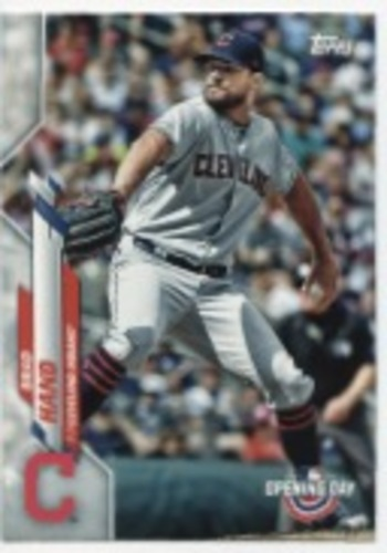 Photo of 2020 Topps Opening Day #195 Brad Hand