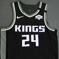Buddy Hield - Sacramento Kings - Game-Worn Statement Edition Jersey - 2019-20 NBA Season Restart with Social Justice Message