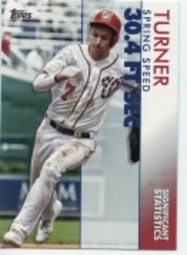 Photo of 2020 Topps Significant Statistics #SS24 Trea Turner