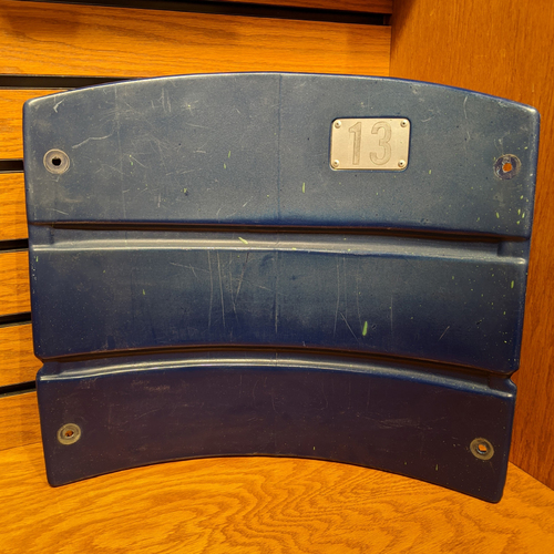 Photo of Fenway Park Section 33 Blue Seatback #13