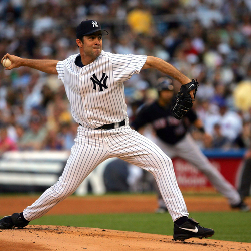 LOT #41: Mike Mussina - HOF '19 Autographed Baseball