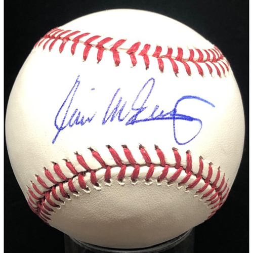 Photo of Will McEnaney -  Autographed Official Major League Baseball