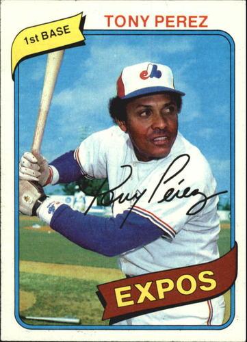 Photo of 1980 Topps #125 Tony Perez