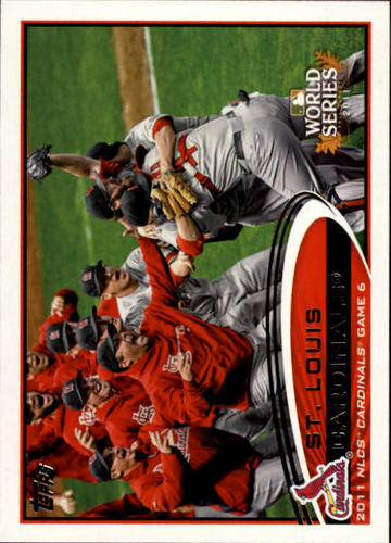 Photo of 2012 Topps #233 St. Louis Cardianls PS HL
