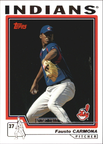 Photo of 2004 Topps Traded #T124 Fausto Carmona FY RC