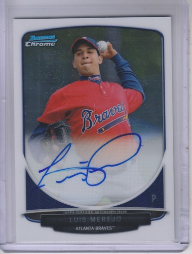Photo of 2013 Bowman Chrome Prospect Autographs #LME Luis Merejo