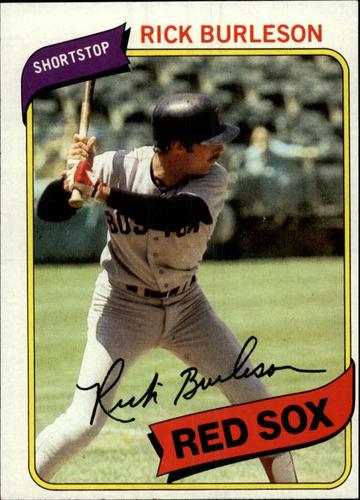 Photo of 1980 Topps #645 Rick Burleson