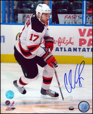 ILYA KOVALCHUK New Jersey Devils SIGNED 8x10 Photo Skating Photo