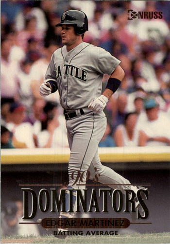 Photo of 1994 Donruss Dominators Jumbos #B4 Edgar Martinez